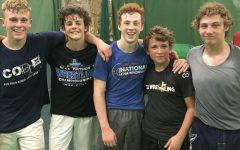 Dallastown wrestlers Jarrett Feeney, Cael Turnbull, Dalton Daugherty, Brooks Gable, and Hunter Sweitzer attend FCA Wrestling camp. They all went to the camp in the summer of 2017, and it was held here in York, PA.