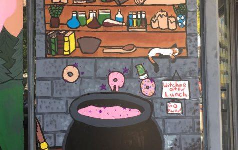 Spooky Donut Paintings