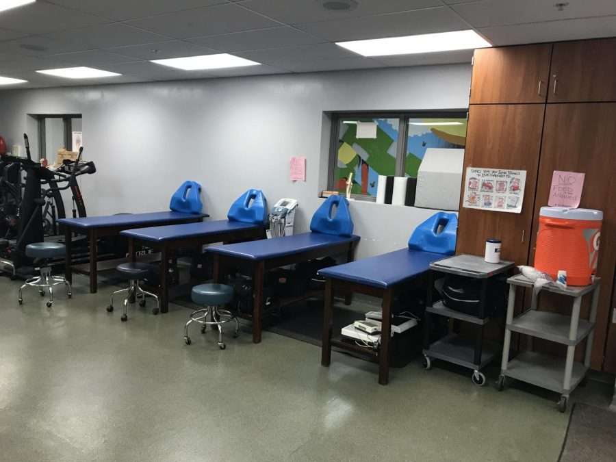 These tables are used to treat muscle injuries and rehabilitation.