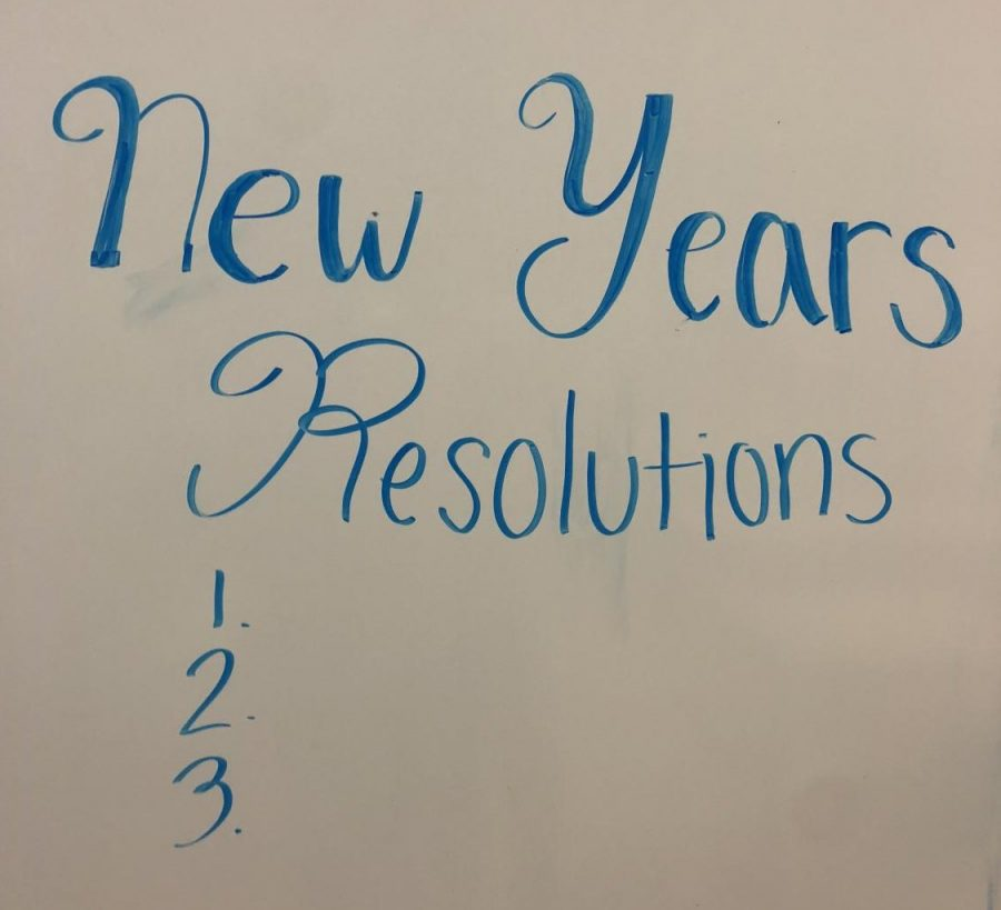 New+Year%27s+Resolutions+are+sometimes+hard+to+keep.+Experts+suggest+making+lists+and+placing+reminders+to+stay+focused+on+goals.++