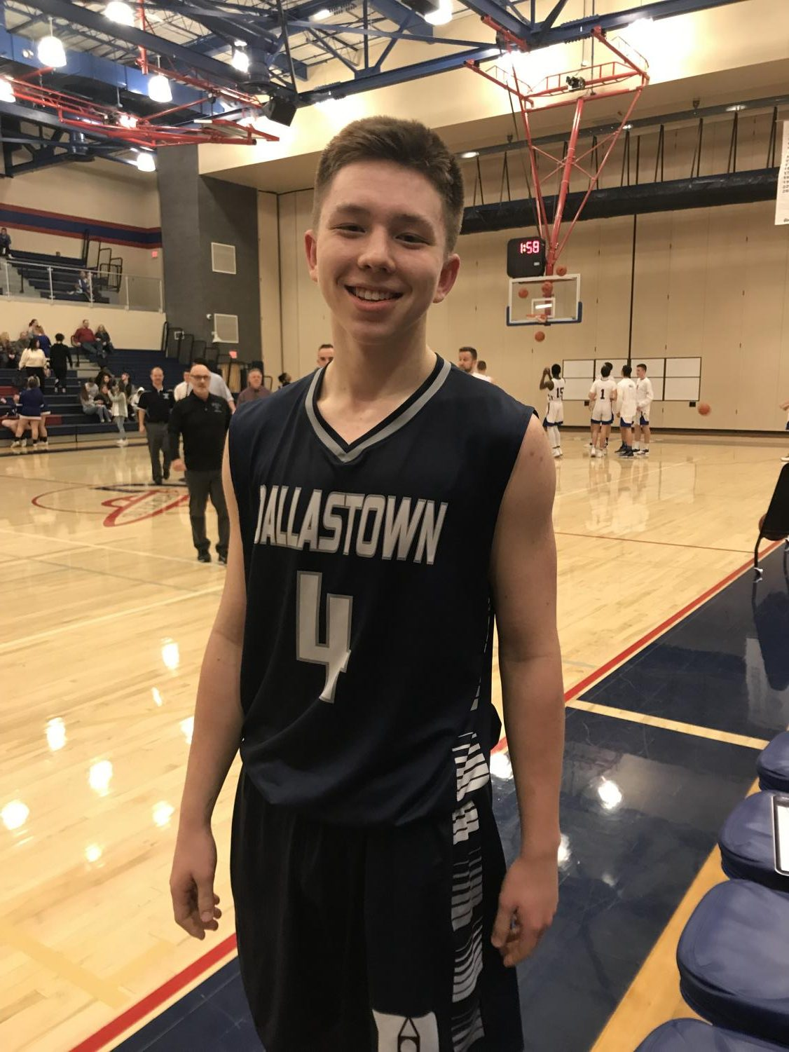 Dallastown junior Nike McGlynn is the youngest member of a prominent Dallastown basketball  family, but if you ask him, he plays because he loves it.