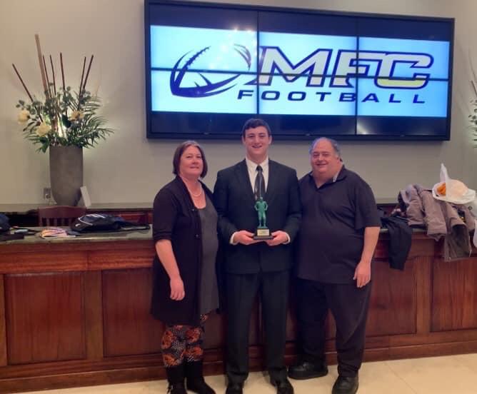 Christas Collects Awards For Successful Senior Season