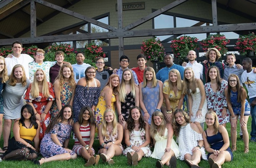 Dallastown%27s+Young+Life+group+at+summer+camp%2C+in+front+of+the+game+room+at+Lake+Champion.+This+was+formal+night%2C+so+all+of+the+campers+dressed+their+best.
