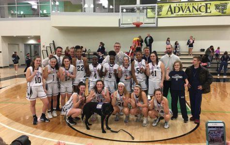 Girls Basketball onto States after Successful Season