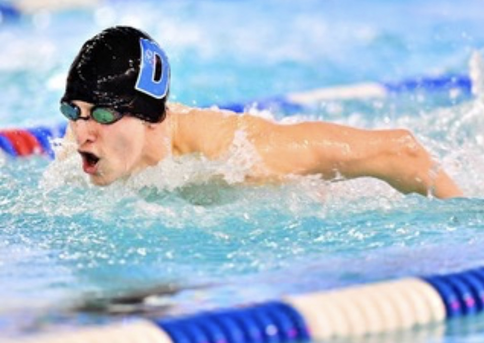 Junior Joel Dunnigan placed third at the PIAA District Championships. He will swim at The PIAA State Championships next week.
