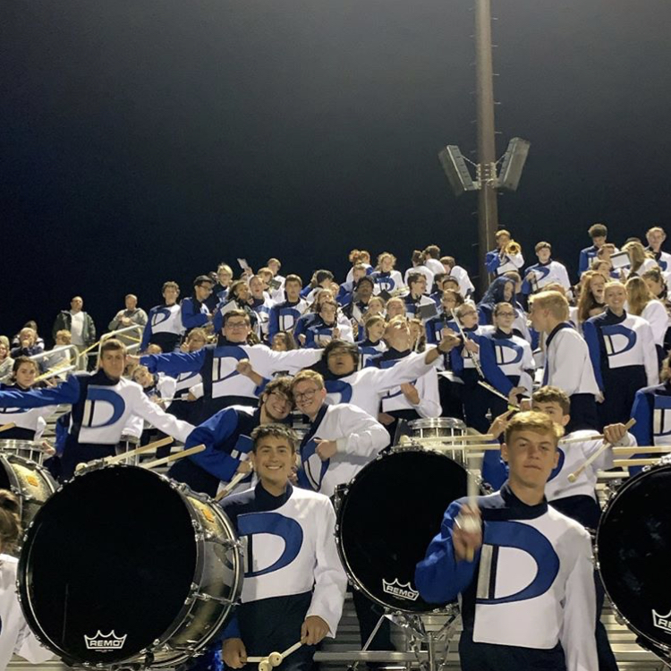 Marching+Band+in+the+stands