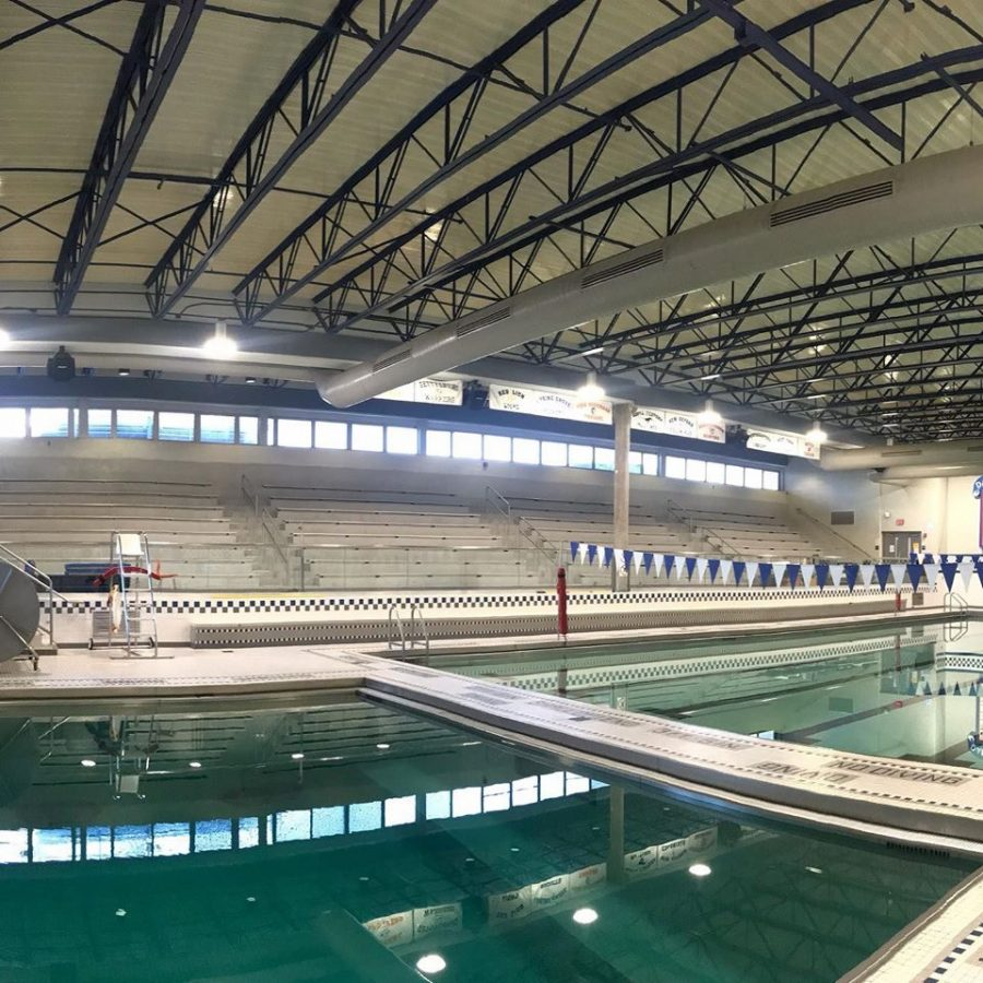 Dallastown Swim team will spend six days a week and nearly three hours a day swimming in the pool. During the winter season, their time is mostly spent here, in the aquatics center.