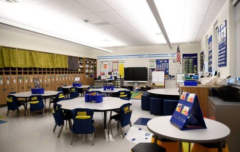 One of the newly finished classrooms at Loganville Springfield Elementary.