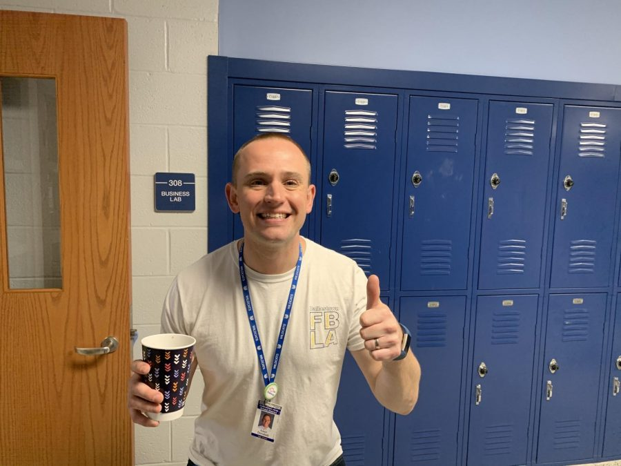 Mr. Donatelli is a business teacher as well as the head of the Business Department.