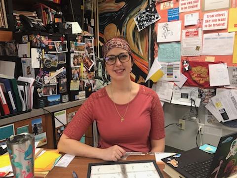 Mrs. Kohler, Art Teacher, is Dallastown's Visual Arts Department Chairperson