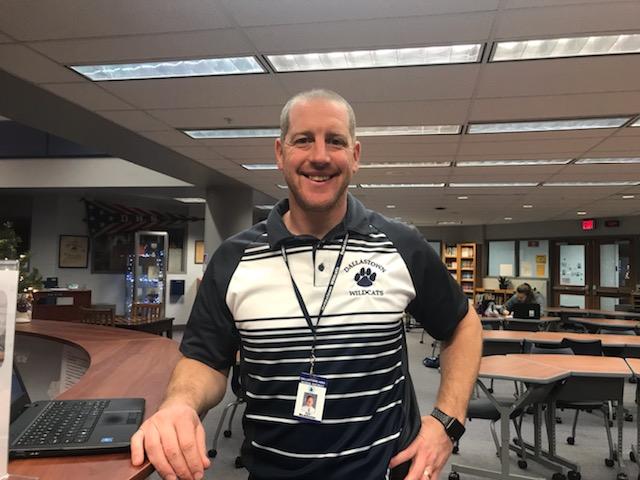 Mr. Mcallister, Math Teacher, is also Dallastown's Math Department Chairperson.