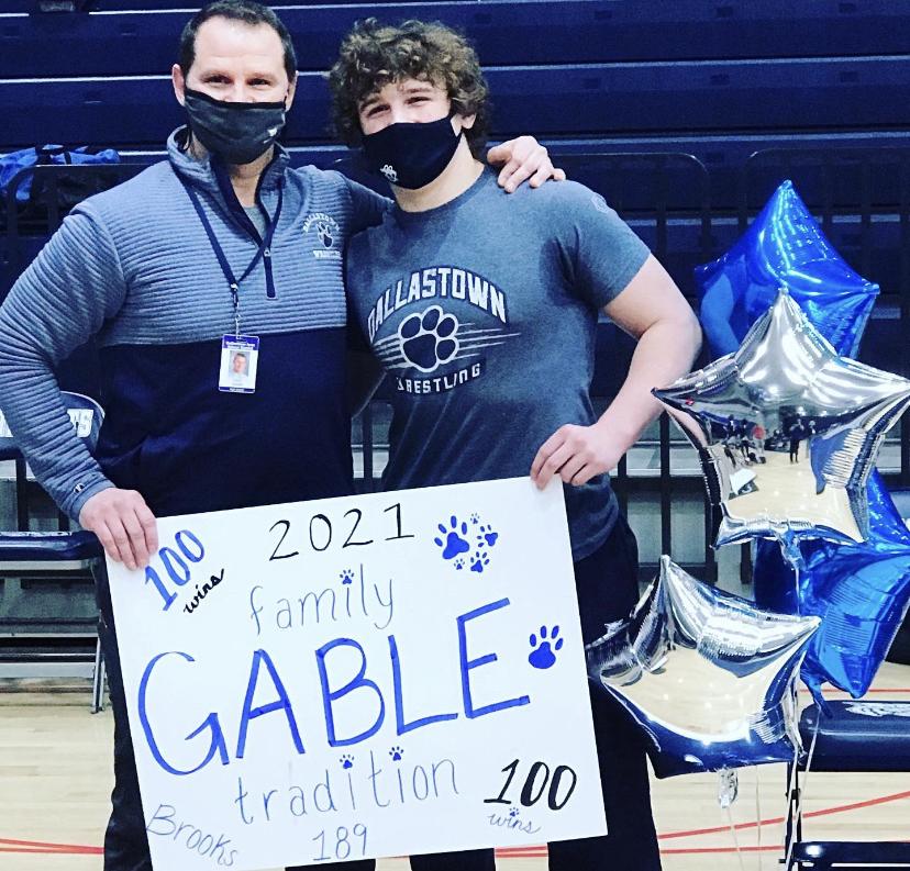 Brooks Gable, 100 wins