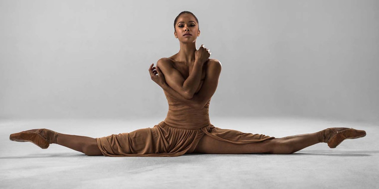 Star of the ballet world Misty Copeland trains as long and hard as more