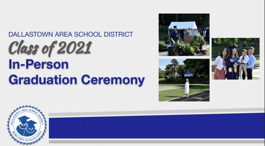 Graduation for the Class of 2021 will look different from years past. Dallastown Administration posted a presentation going into detail about the event.