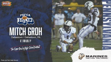 Groh Joins Elite Group at Big 33 Football Classic