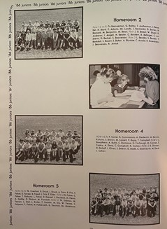 In the 1985 edition of The Spectator, junior photos were taken in homerooms rather than taken as individuals.