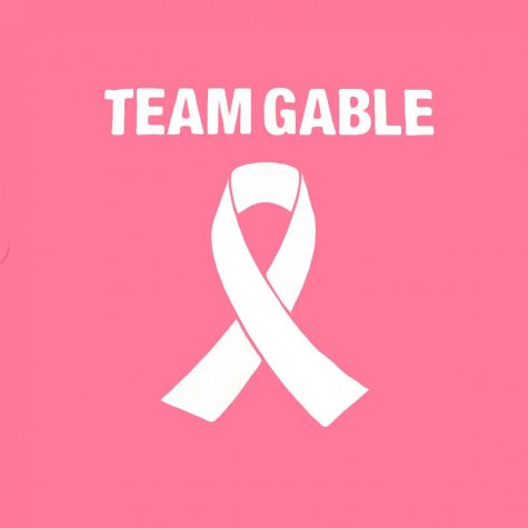 The Dallastown Tennis team used shirts stating Team Gable to show their support.